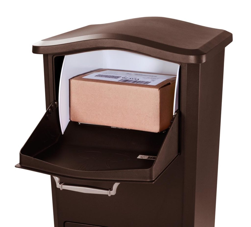Freestanding Outdoor Parcel Drop Box, Outdoor Drop Box For Packages