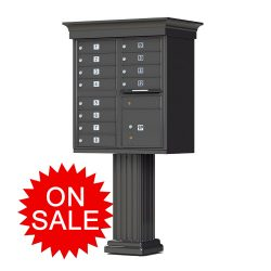 Classic Decorative Style NEW High Security F-Series Cluster Box Units (CBU) – USPS Approved