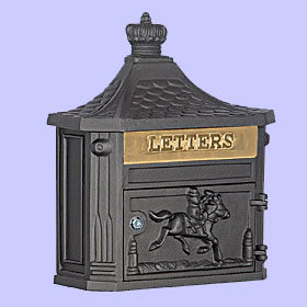 Victorian Residential Wall Mount Mailboxes - USPS Approved
