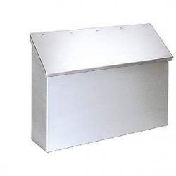 Stainless Steel Wall Mount Mailboxes - USPS Approved