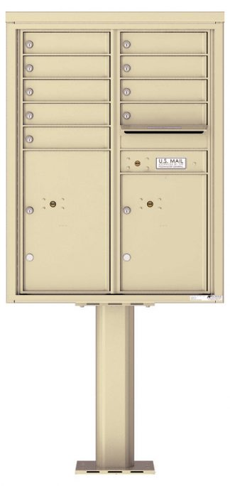 NEW 4C Pedestal Mount High Security Mailboxes - USPS Approved