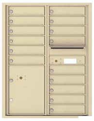 8 to 15 Tenant Doors 4C Horizontal Wall Mount Mailboxes – NEW High Security - USPS Approved