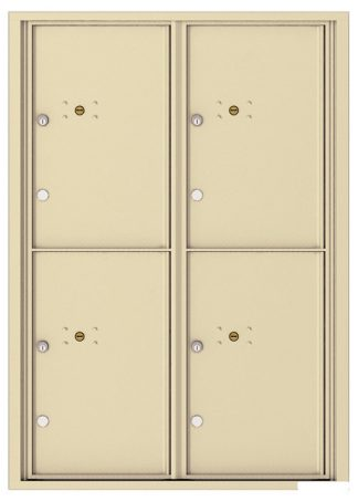 4C Wall Mount Parcel Lockers - For Packages Only - USPS Approved