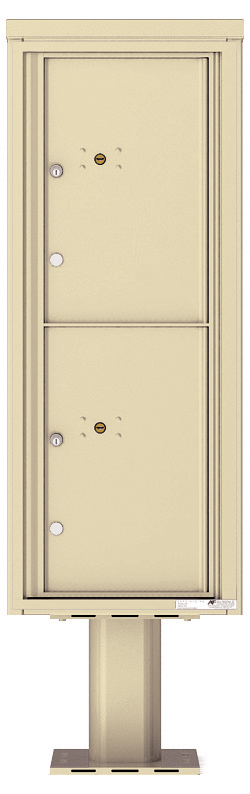 4C Pedestal Parcel Lockers - USPS Approved - For Packages Only