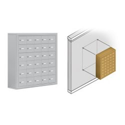 Surface Mount Cell Phone Lockers (Wall Mount)