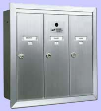 Vertical Wall Mount Mailboxes - USPS Approved
