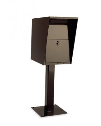 Large Collection Drop Boxes with Pedestal For Private Use/Access