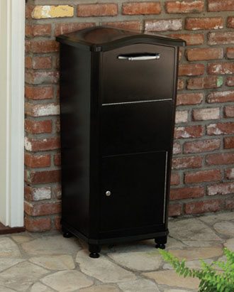 Freestanding Outdoor Parcel Drop Box For Private Use