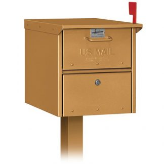 Deluxe Roadside Locking Mailbox (USPS Approved)