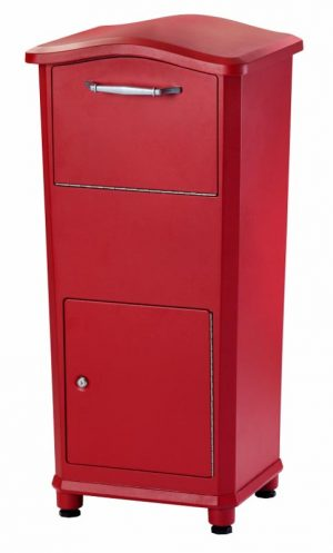 Secure Elephant Trunk Drop Box for Parcel Delivery For Private Use/Access