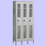 Single Tier Vented Lockers