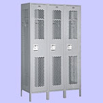 Single Tier Extra Wide Vented Lockers