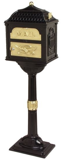 Gaines Classic Mailboxes with Pedestals (USPS Approved)