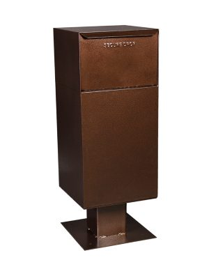 Delivery Vault Pedestal Mount Collection Box (Includes Pedestal)