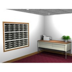 Open Back Mail Sorters