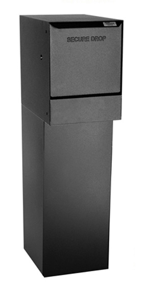 Package Receiving Wall Mounted Drop Box With Bottom