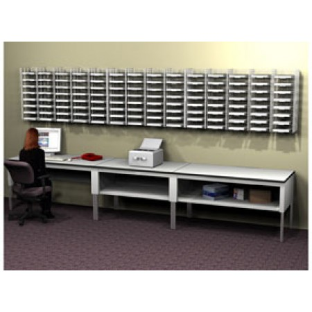 Wall Hung Wire Mail Sorter System