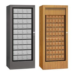 Freestanding Rotary Mailboxes For Private Use/Access