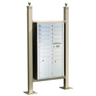 Outdoor Express Freestanding Mail Stations - USPS Approved