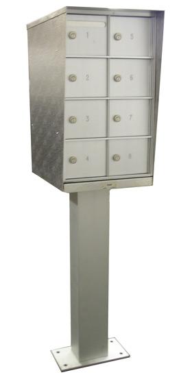 Cell Phone Storage Locker Cabinets Pedestal Type (Freestanding)
