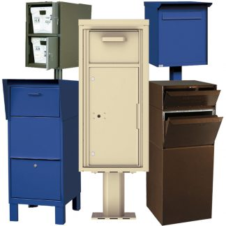 Freestanding Collection Mailboxes