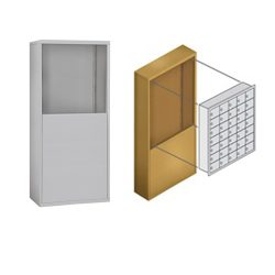 Freestanding Cell Phone Locker Enclosures (Cell Phone Lockers Sold Separately)