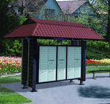 Outdoor Mailbox Shelters - USPS Approved