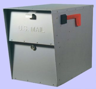 Private Locking Mailboxes