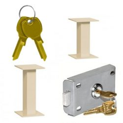 Accessories for Pedestal Mounted 4C Mailboxes