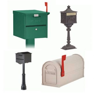 Pedestal Type Residential Mailboxes