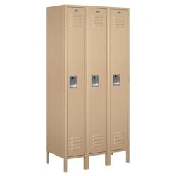 "12"" Wide Standard Metal Lockers"