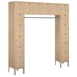 "12"" Wide Box Style Bridge Standard Metal Lockers"