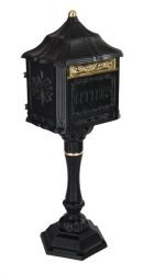 Colonial Pedestal Locking Mailbox (USPS Approved)