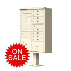 Standard Style Cluster Box Units (CBU) NEW F-Series High Security Type (USPS Approved)