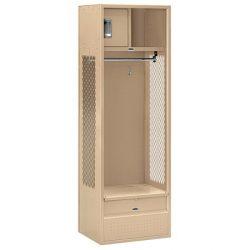 """24"""" Wide Open Access Standard Metal Lockers"""