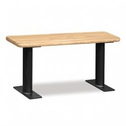 Wood Locker Benches