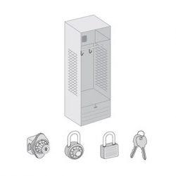 Open Access & Metal Locker Options & Locks