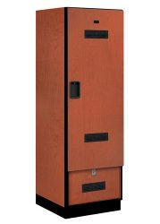 Open Access & Gear Designer Wood Lockers