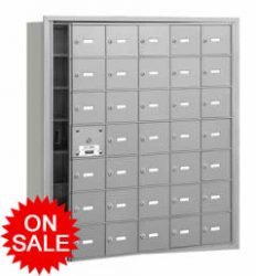 Standard Horizontal Wall Mount Mailboxes - USPS Approved