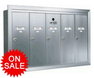 Apartment Mailboxes – Wall Mount – USPS Approved