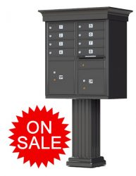Classic Decorative Style Cluster Box Units (CBU) High Security- USPS Approved