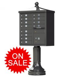 Traditional Decorative Style Cluster Box Units (CBU) High Security - USPS Approved