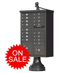 Traditional Decorative Style NEW High Security F-Series Cluster Box Units (CBU) – USPS Approved